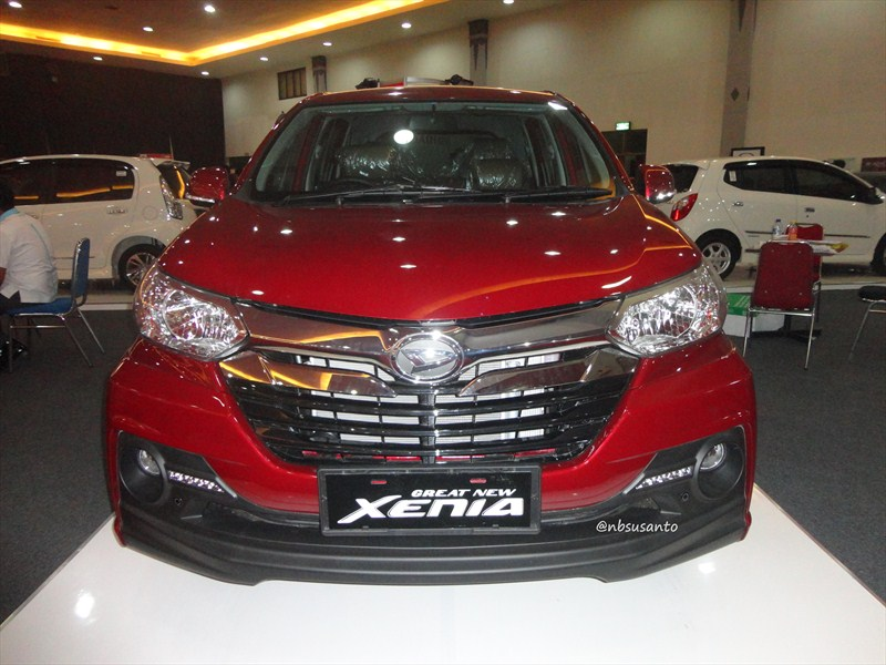 daihatsu all new xenia dual vvt-i tipe R sporty manual (4). toyota all new avanza type G ...