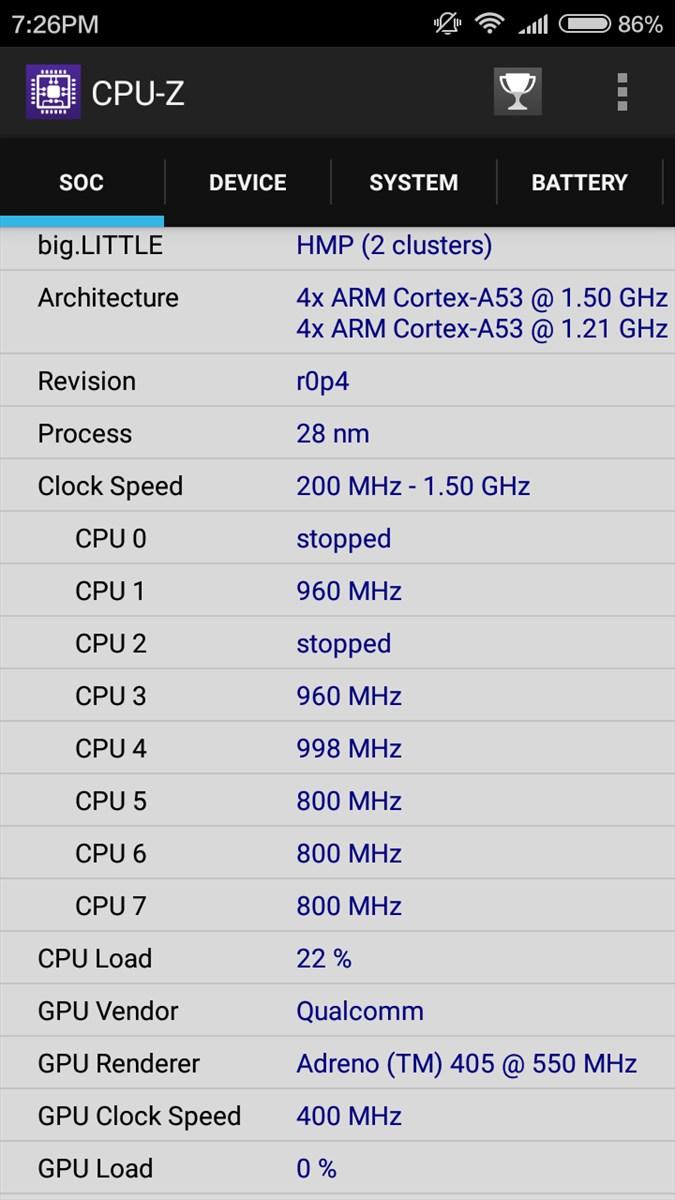 Screenshots Xiaomi Redmi 3 Pro 5
